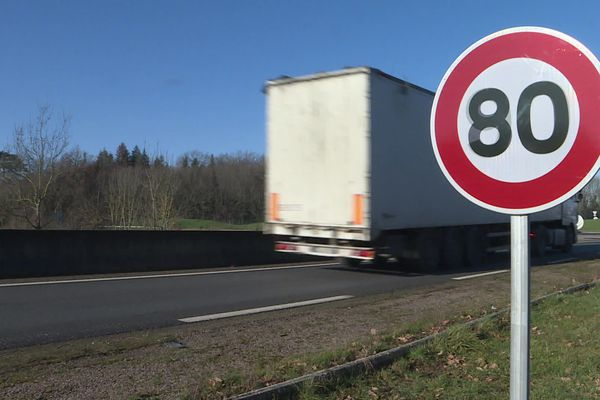 La transition vers 80 km/h s'est faite difficilement, mais le retour aux 90 km/h n'est pas possible dans la Nièvre