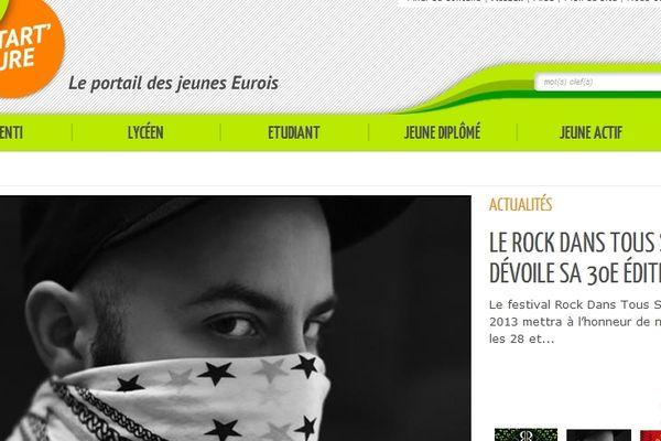 Start'up est un site Internet à destination des 16-25 ans dans l'Eure.