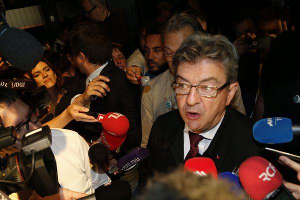 Jean-Luc Mélenchon en tête à Marseille