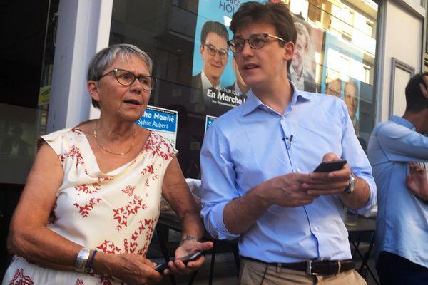 Sacha Houlié succède à la socialiste Catherine Coutelle, qui l'a activement soutenu pendant toute la campagne.