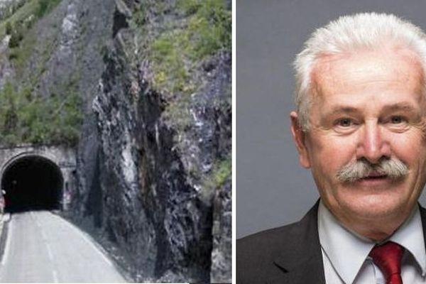 Jean-Marie BERNARD face à la question épineuse du Grand tunnel du Chambon entre Hautes-Alpes et Isère