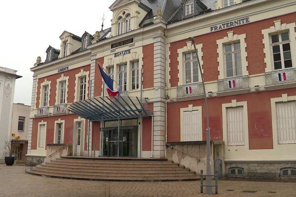 La mairie de Montceau-les-Mines, en Saône-et-Loire.