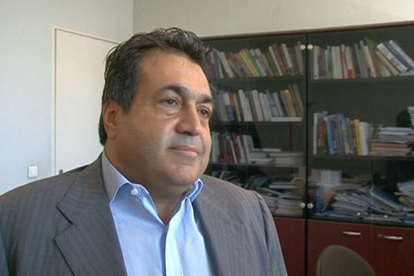 Le dirigeant de la société américaine Baja Ferries, Daniel Berrebi, lors d'un interview en mai 2014