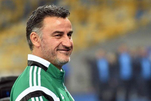 Christophe Galtier, entraîneur de l'AS Saint Etienne.