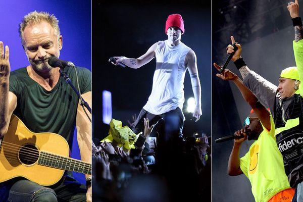 Sting, Twenty One Pilots et Black Eyed Peas seront les trois principales têtes d'affiche du Main Square en 2020.