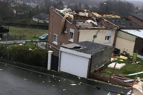 Le réveil est difficile pour les habitants de Liévin après la mini tornade qui a touché la Cité des Castors.