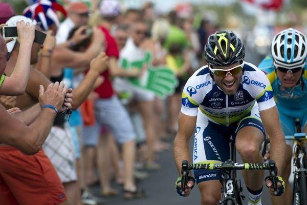 Passage du Tour de France dans une ville étape ( Le Cap d'Agde)