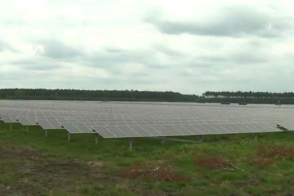 Le parc photovoltaïque de Ste Hélène dans le Médoc
