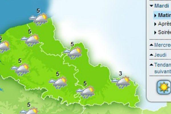 Après la neige, la pluie est encore annoncée dans les prochains jours