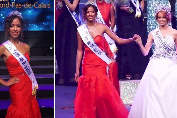 Annabelle Varane, Miss Nord Pas-de-Calais 2018 avec Maëva Coucke, Miss France 2018 ce samedi soir à Orchies