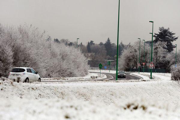 2 à 7 centimètres de neige sont à attendre dans la région - Photo d'illustration