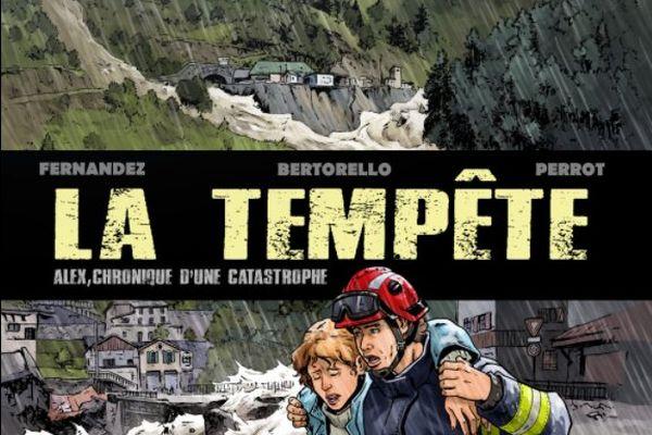 La bande-dessinée sur la tempête Alex sortira en septembre 2021.