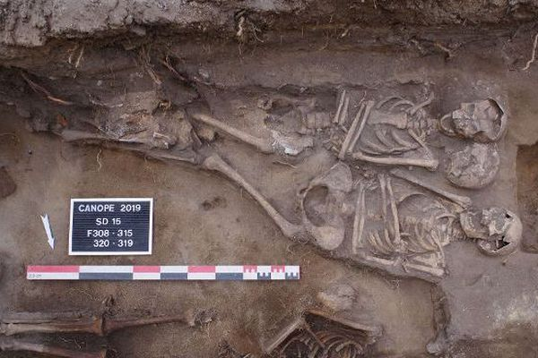 19 sépultures, dont celles de quelques enfants, ont été mises au jour.
