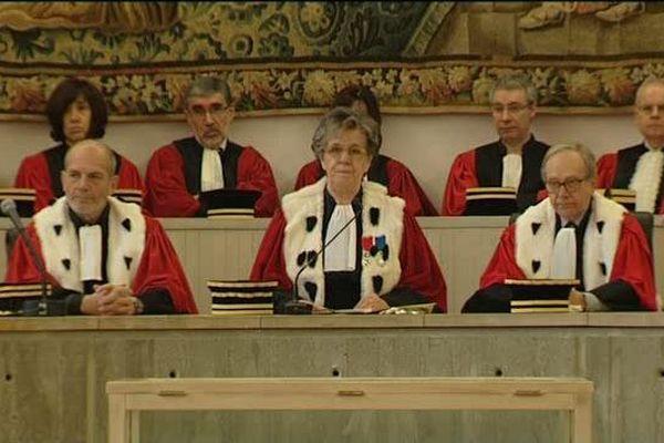 Rentrée solennelle de la Cour d'Appel de Riom (63) le 8 janvier 2016