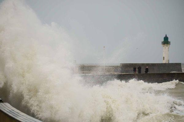 Lundi 10 février, la tempête Ciara frappe une partie de la Normandie.