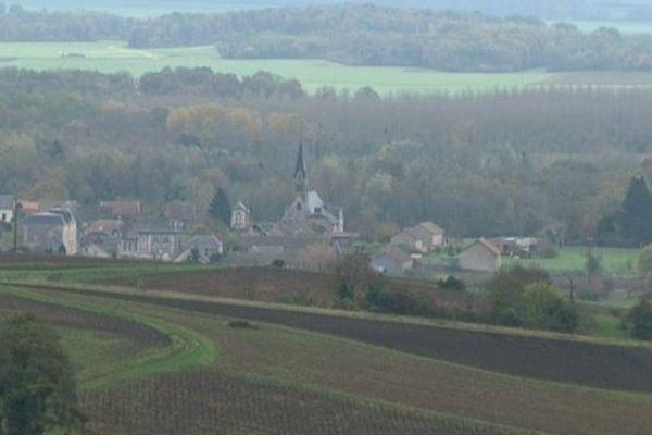 Le village de Craonne dans l'Aisne