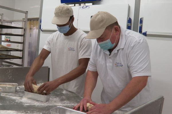 Souleymane a trouvé un emploi dans une boulangerie de Fabrègues il y a un an - 18 décembre 2020