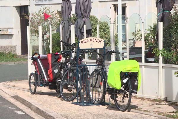 Le public familial plus présent le long de la Loire à vélo durant l'été 2020