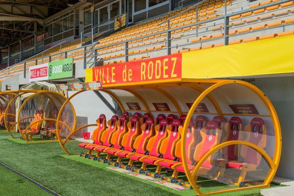 Le stade Paul-Lignon de Rodez a pu accueillir 1585 spectateurs, pour cette ouverture de la saison de Ligue 2.