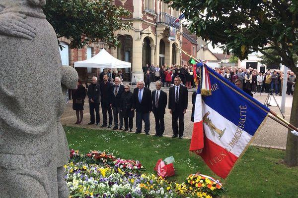 Cérémonies du 8 mai 2017 à Saint Etienne du Rouvray