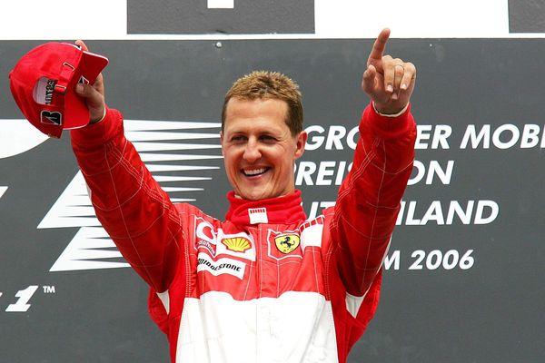 Michael Schumacher, le 07 juillet 2006 au Grand-prix d'Allemagne, à Hockenheim. Archives.