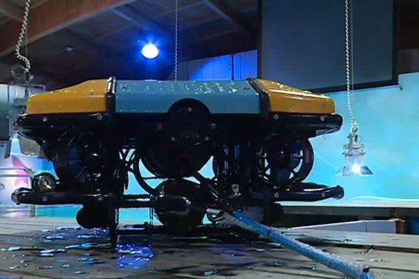 Le robot S-ROV du Seaquarium au Grau-du-Roi peut descendre jusqu'à 300 mètres de profondeur - Mars 2018