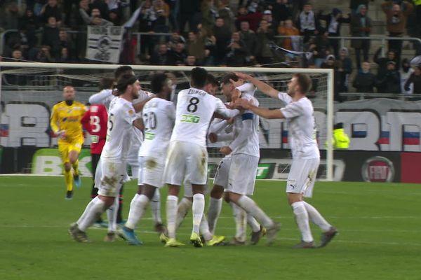 Thomas Monconduit a inscrit le but de la victoire à la 91ème minute.