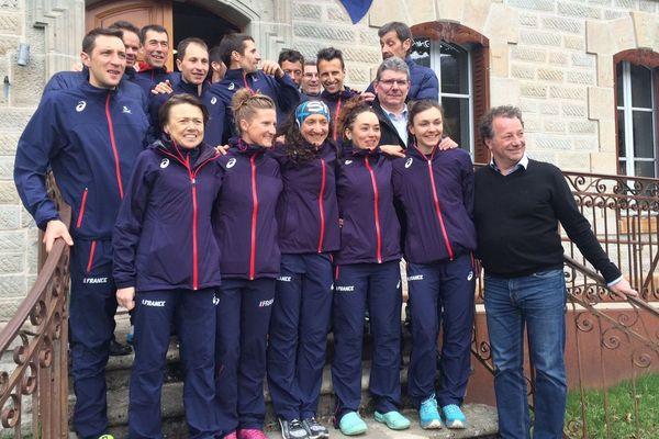 Du 7 au 13 avril, les coureurs tricolores sont venus préparer dans le Cantal les championnats du monde de trail qui auront lieu le 12 mai en Espagne.