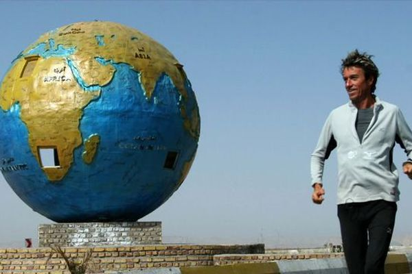 L'ultra-fondeur Serge Girard a débuté son tour du monde