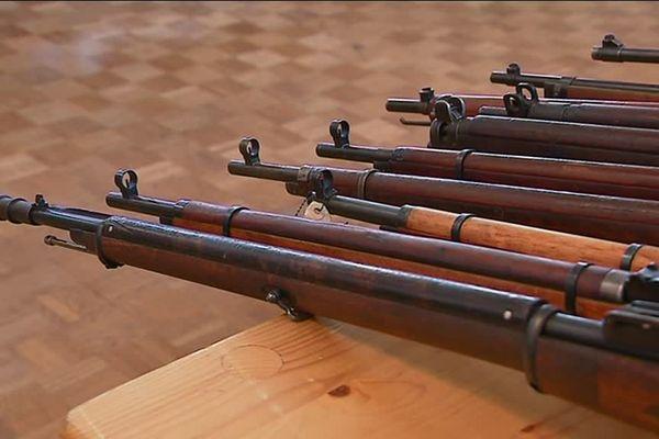 Vente d'armes très encadrée à Châtillon en Bazois