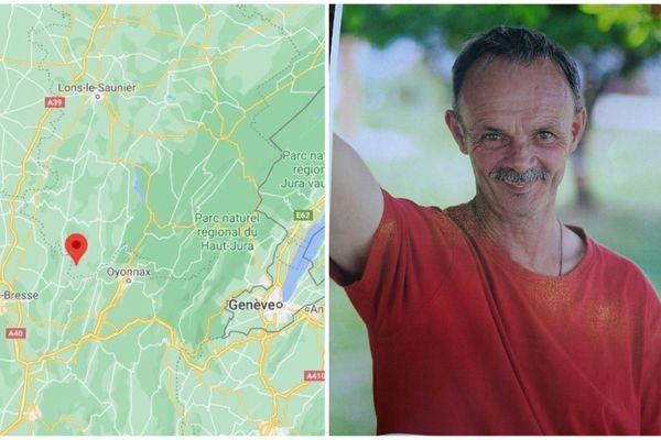 Thierry Medge a disparu du foyer d'Aromas depuis ce mardi matin.