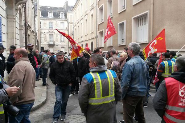 Les ouvriers de GM&S suspendus à la décision du tribunal administratif