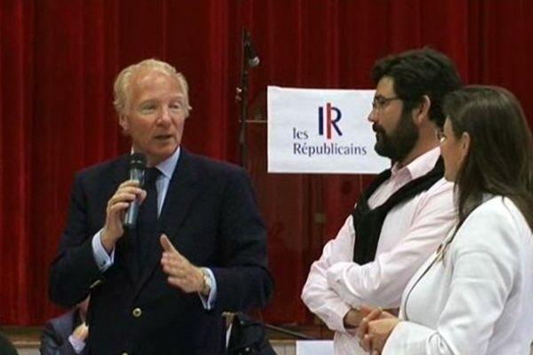 Les Républicains du Puy-de-Dôme se sont rassemblés à Pérignat-lès-Sarliève ce samedi.