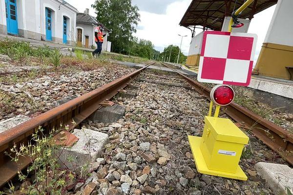 A Saillat-sur-Vienne, la ligne ferroviaire utilisée autrefois par International Paper