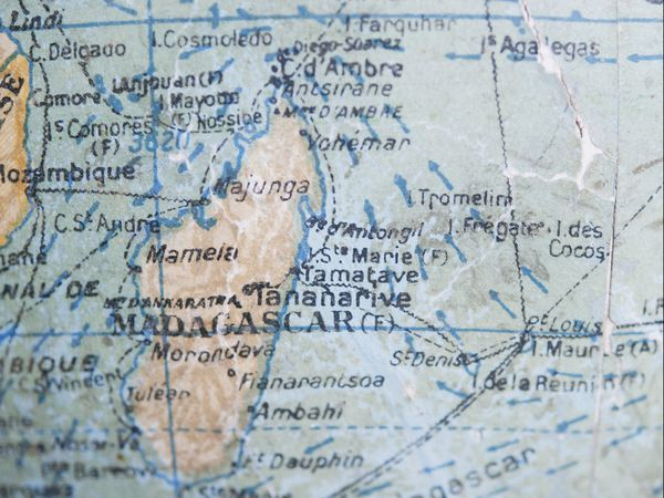 La commune de Majunga est située au nord de Madagascar