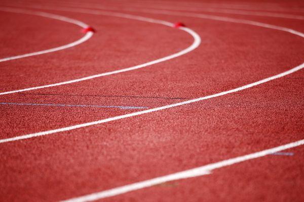 Une piste d'athlétisme (image d'illustration).