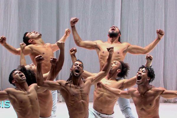 "Répétition du ballet ""Odyssey"" d'Hervé Koubi"