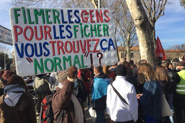Une nouvelle mobilisation contre la Loi Sécurité Globale se tient ce samedi à Montpellier.