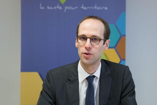 Pierre Pribile, directeur de l'ARS Bourgogne-Franche-Comté.