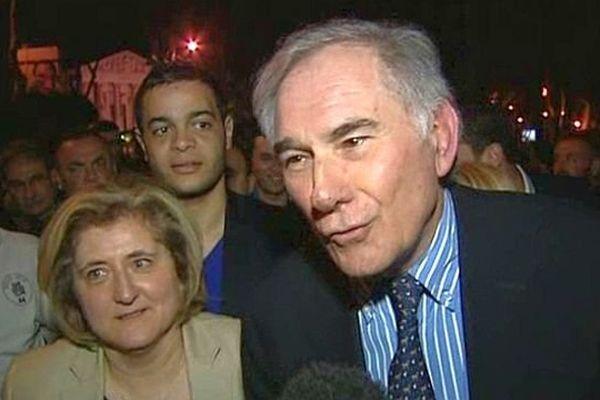 Gérard Larrat, maire divers-droite de Carcassonne