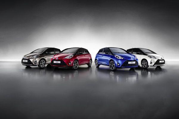 La future nouvelle Toyota Yaris.