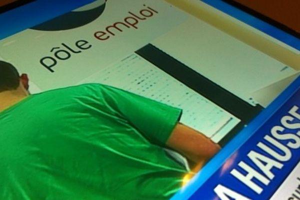 La hausse du chômage sur les chaînes d'info