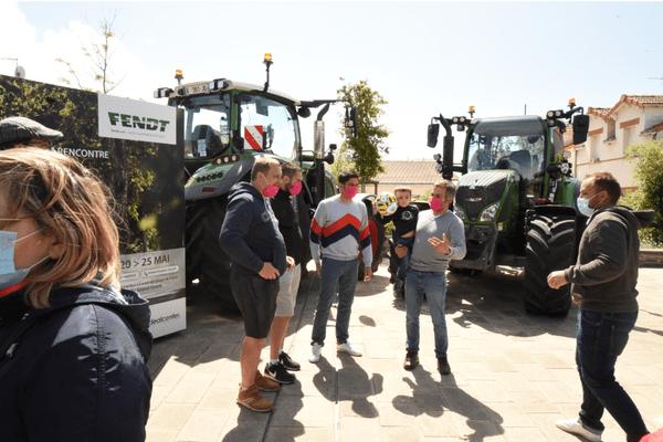 Les agriculteurs du Tracteur Tour