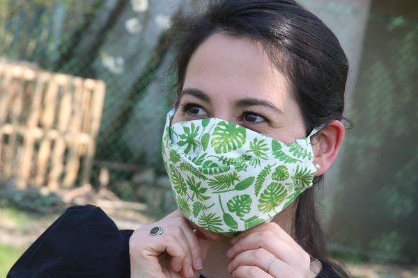 Un masque textile