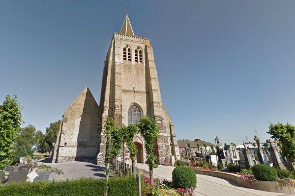Une collecte de fonds a été lancée pour rénover l'église de Bambecque (Pas-de-Calais).