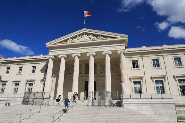 ILLUSTRATION - Palais de Justice de Marseille.