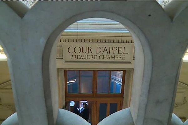 La première chambre de la Cour d'appel de Paris ou se tient le troisième procès AZF.