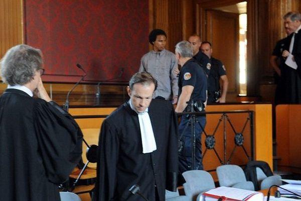 Jeremy Bagassien lors du premier procès