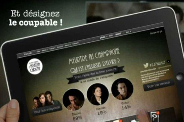 """L'application """"Les petits meurtres d'Agatha Christie"""" est disponible pour les smartphones et tablettes."""