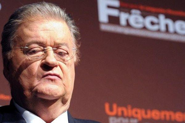Georges Frêche pendant la campagne des Régionales le 14 mars 2010